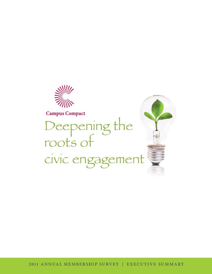 Deepening the       roots of       civic engagement                            p aI P SU RV E Y2 011 A N N UA L M E M BE R...