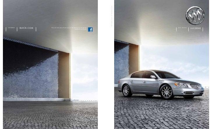 2011 Buick Lucerne Toledo Brochure