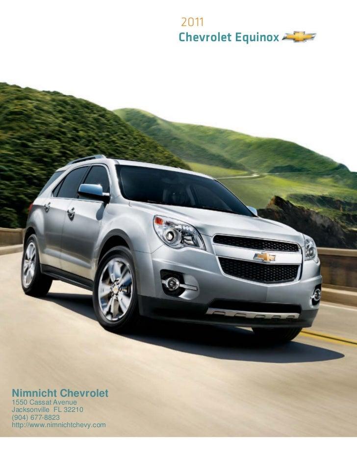 Nimnicht Chevrolet Jacksonville Florida >> 2011 Chevrolet Equinox Jacksonville FL   Nimnicht Chevrolet