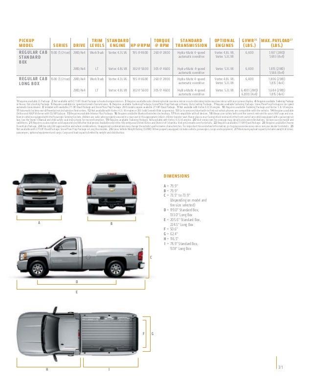 2011 Chevrolet Suburban 1500 Interior: Chevy Silverado Interior Dimensions