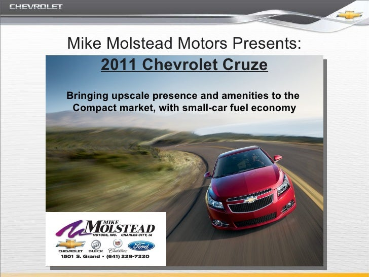 2011 Chevy Cruze Mason City