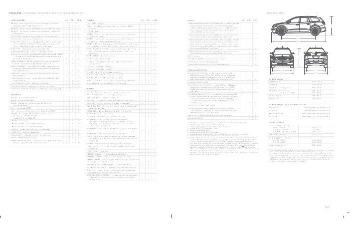 2011 Buick Enclave Alberta  Brochure