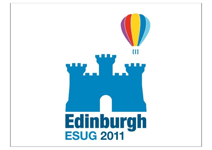 For the twitters:  #Esug2011