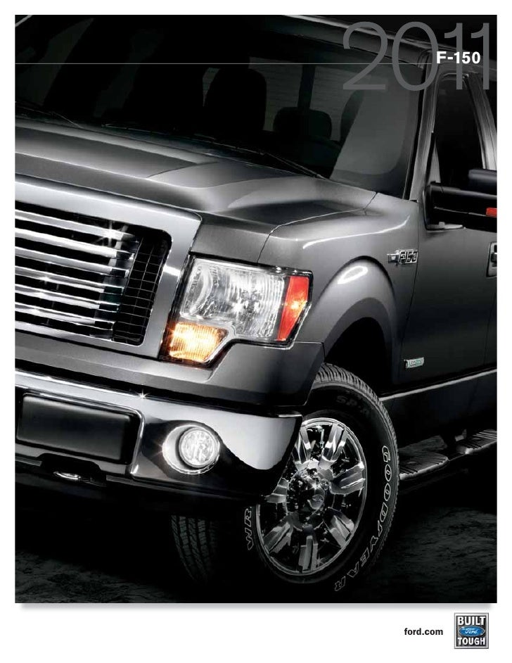 Ford Dealership Kansas City >> 2011 Ford F-150 Brochure