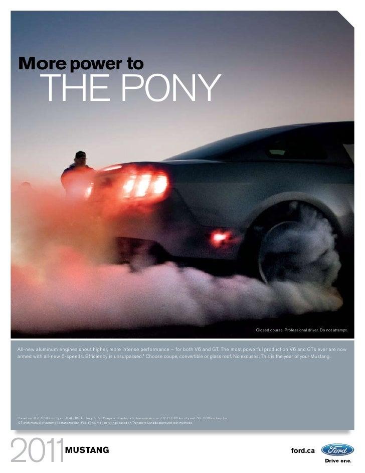 2011 Ford Mustang Regina Ford Dealer
