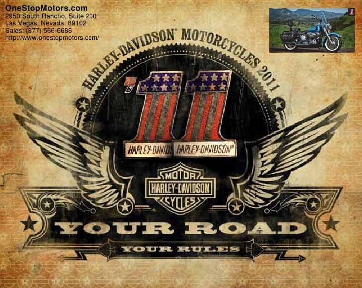 2011 Harley Davidson Softail Heritage– OneStopMotors.com Las Vegas, NV