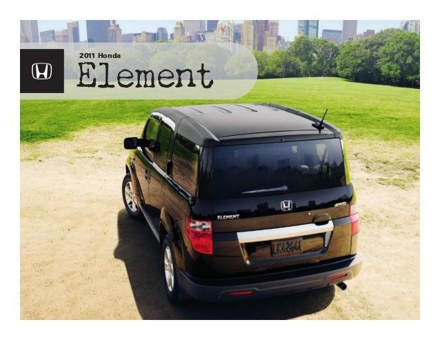 Element 2011 Honda