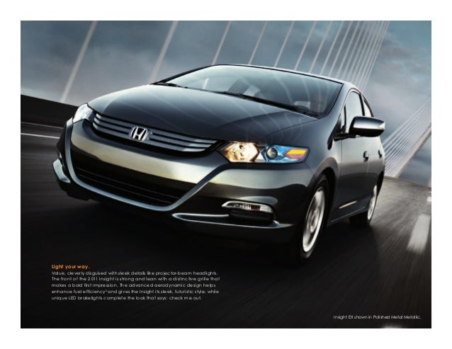 2011 honda insight hybrid for sale at honda cars of bellevue in omaha rh slideshare net 2001 Honda Insight Hybrid Honda Hybrid Cars