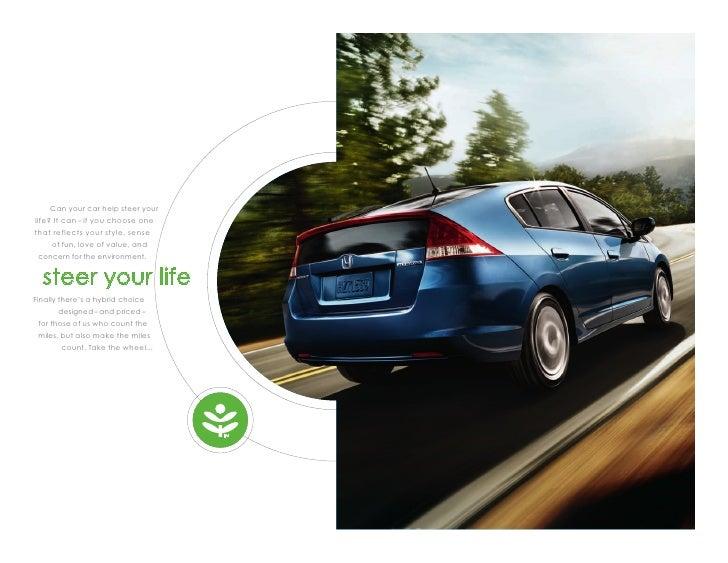 Dch Honda Temecula >> 2011 Honda Insight Hybrid Brochure | DCH Honda of Temecula