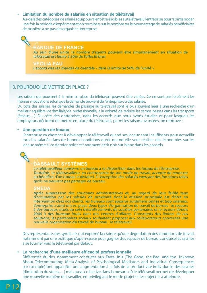 ACCORD NATIONAL INTERPROFESSIONNELLe télétravail constitue un moyen pour l'entreprise de moderniser l'organisation du trav...