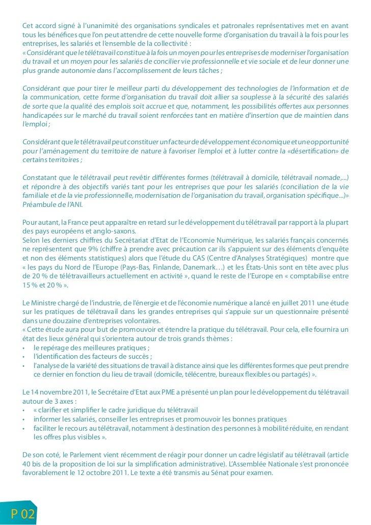 Cet accord signé à l'unanimité des organisations syndicales et patronales représentatives met en avant     tous les bénéfi...