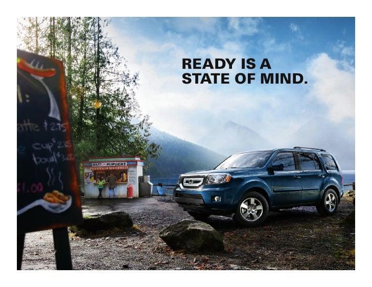 2011 pilot suv brochure honda panama city florida for Honda dealer glendale ca