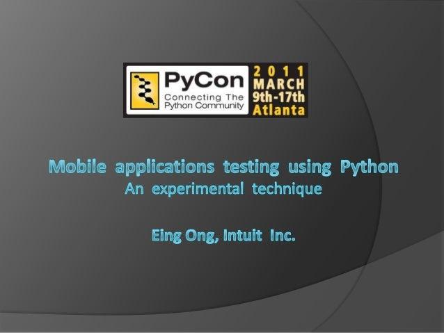 Session outline   Introduction   Simulator basics   Mobile end-to-end testing (Moet)   Building your mobile tests   D...