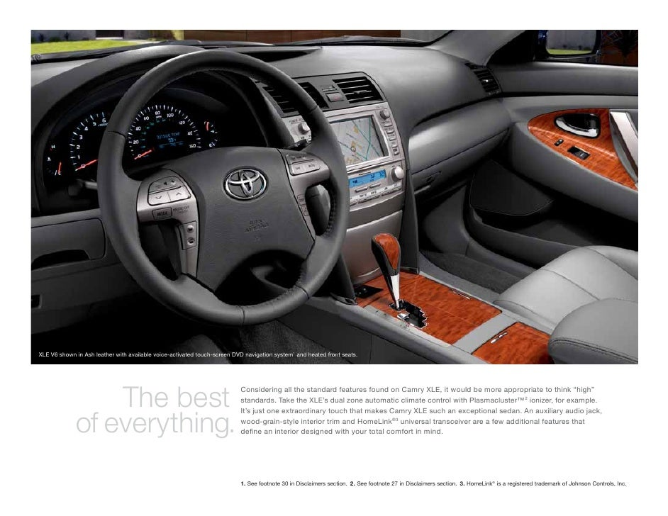 2011 toyota camry se navigation system