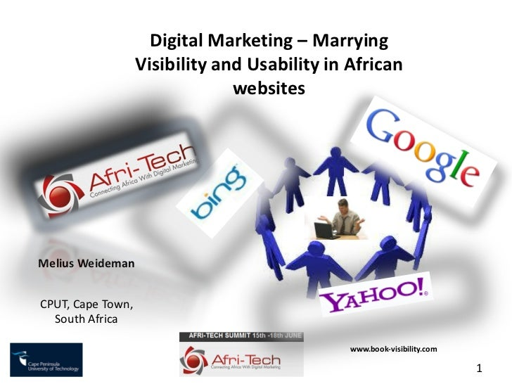 Digital Marketing – Marrying                   Visibility and Usability in African                                websites...