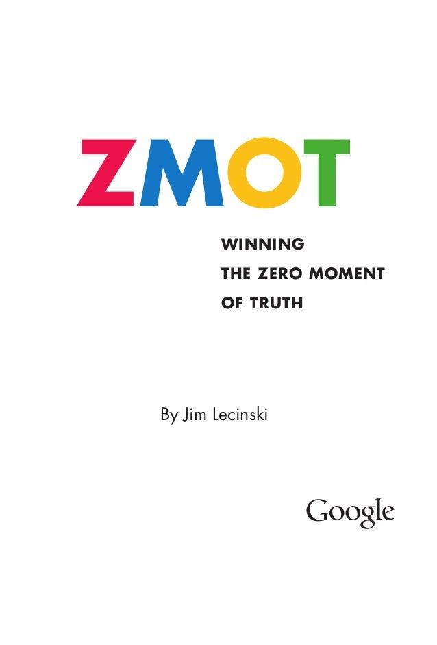 Google - WINNING THE ZERO MOMENT OF TRUTH Slide 2