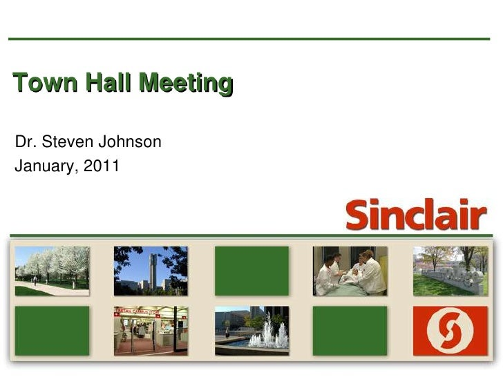 Town Hall Meeting<br />Dr. Steven Johnson<br />January, 2011<br />