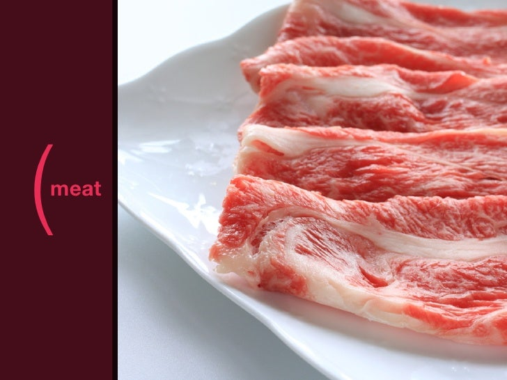 (meat       )