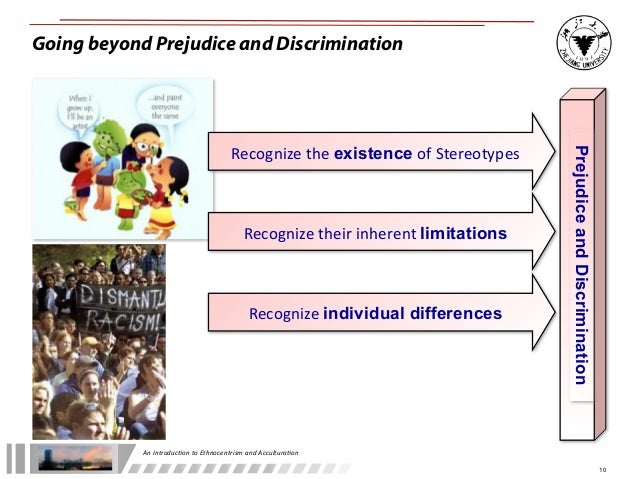 compare stereotyping and ethnocentrism
