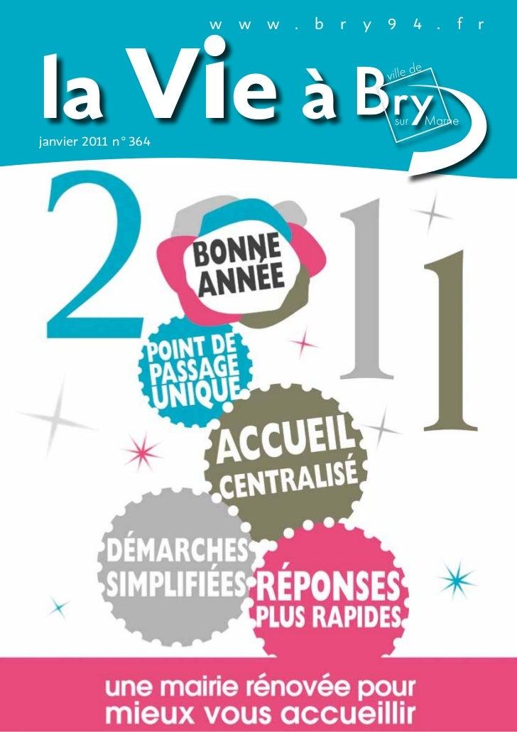 la Vie à                    w   w   w .   b   r   y   9 4 .   f   rjanvier 201 n°364           1