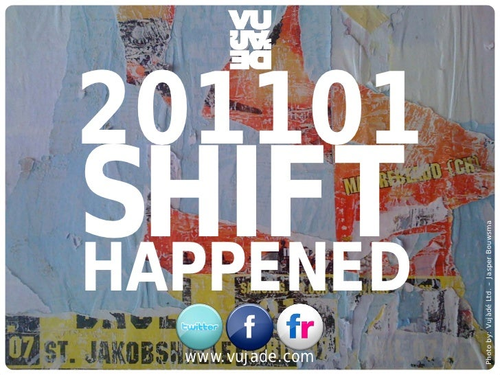 201101                SHIFT                                                                         Photo by: Vujàdé Ltd. ...