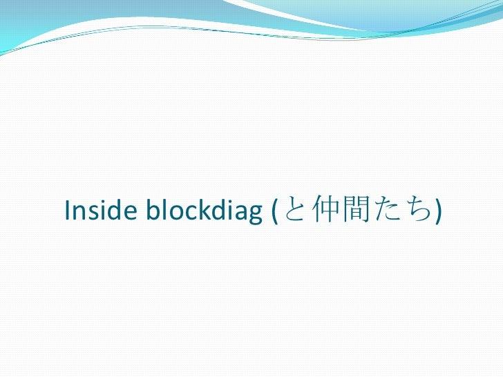 Inside blockdiag (と仲間たち)<br />