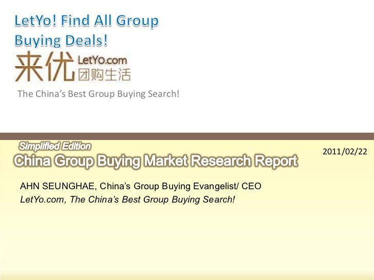 The China's Best Group Buying Search!                                                     2011/02/22AHN SEUNGHAE, China's ...