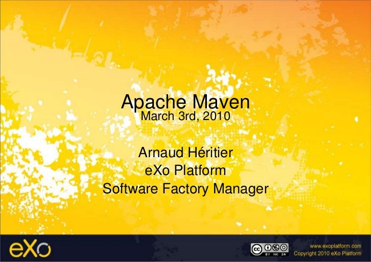 Apache Maven - eXo VN office presentation