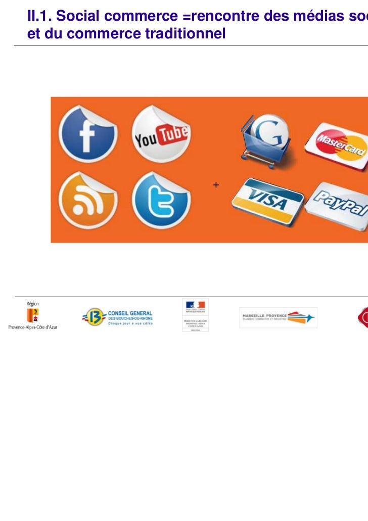II.2. Définition      «Le social commerce comprend l'ensemble des activitéscollaboratives de shopping mises en place sur I...