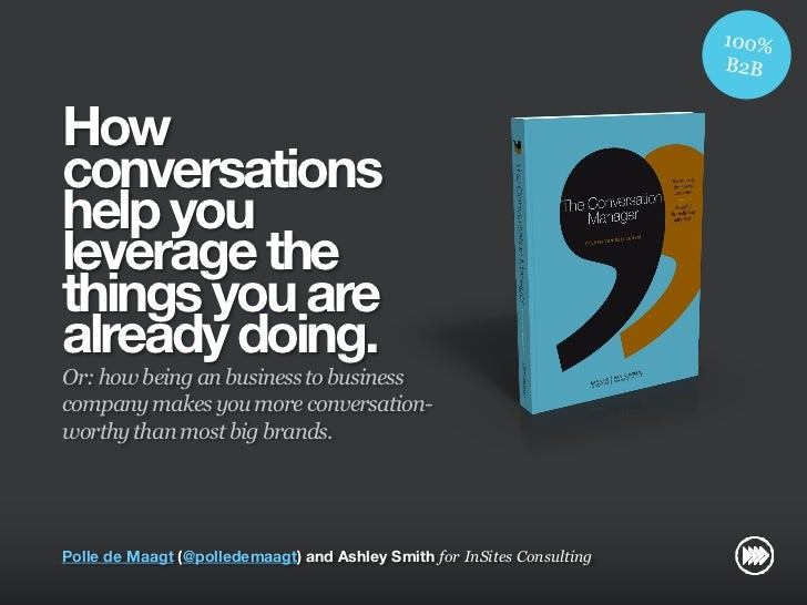 How                       conversations                       help you                       leverage the                 ...