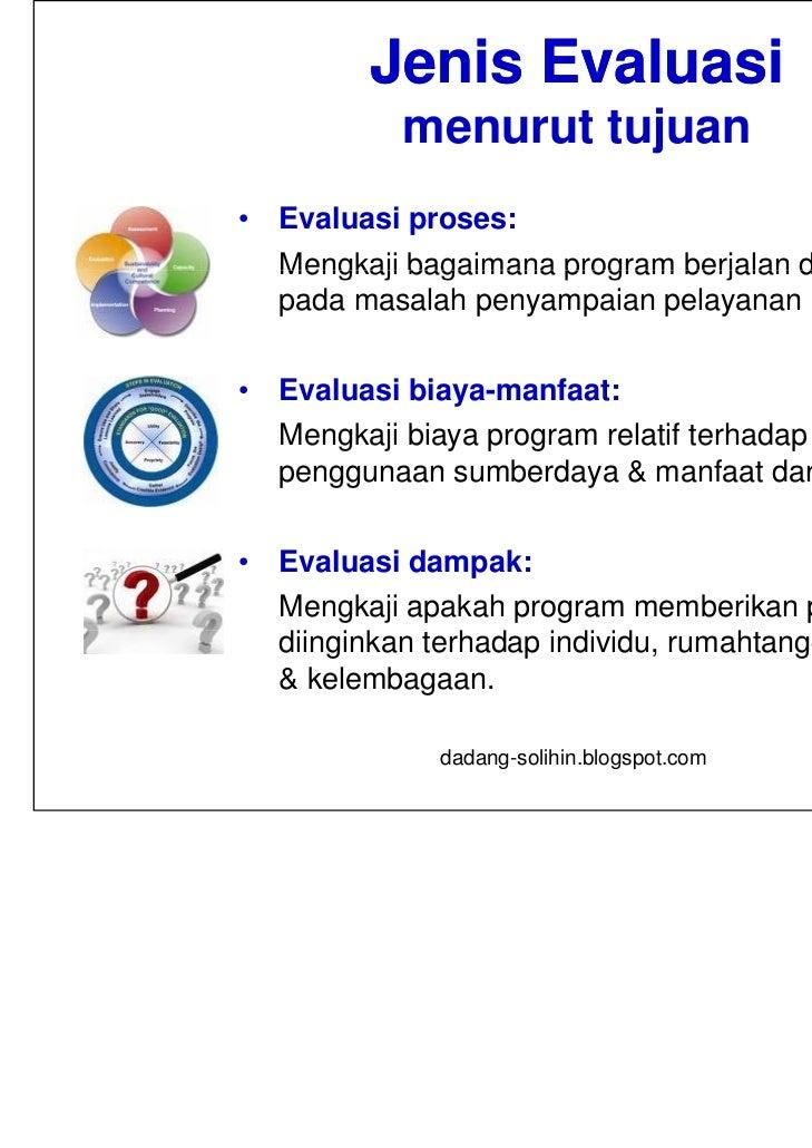 Tata Cara Evaluasi Pelaksanaan Perencanaan Pembangunan