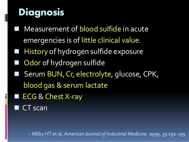 Rotten Egg Smell >> 201103 hydrogen sulfide poisoning