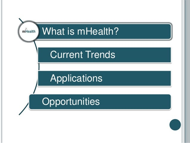Introduction to mHealth Slide 2
