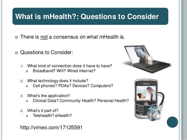 Introduction to mHealth Slide 3