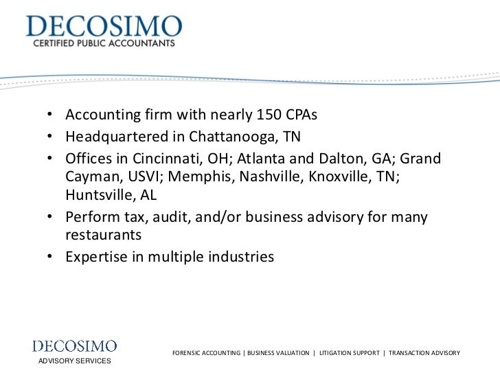 Role of the Forensic Accountant in Litigation Slide 2