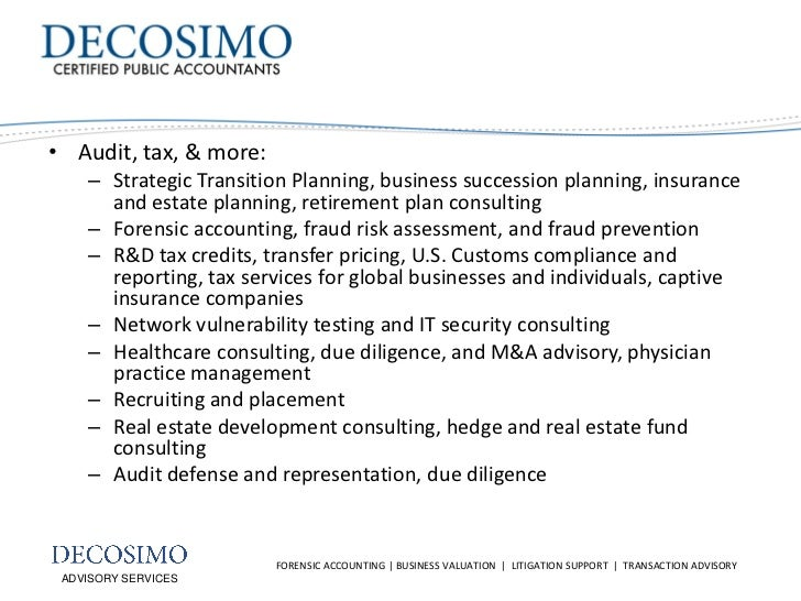 Role of the Forensic Accountant in Litigation Slide 3