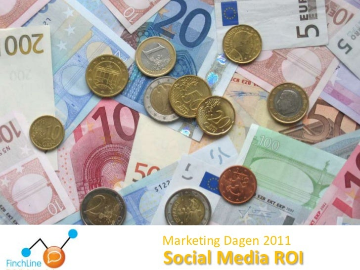 Marketing Dagen 2011<br />Social Media ROI<br />