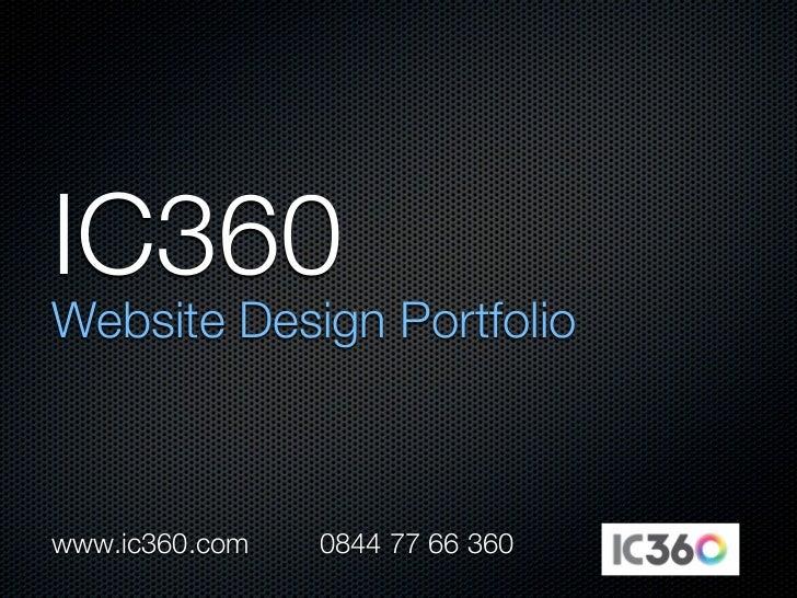 www.ic360.com   0844 77 66 360
