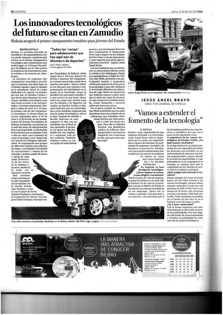 2011 04 21   deia.com - camp tcnológico