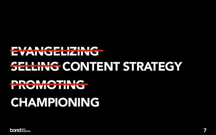 WAYS I F*CKED UP BY NOTTALKING ABOUT CONTENTSTRATEGY A LOT EARLIER                          8