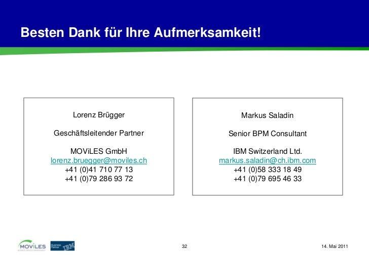 Besten Dank für Ihre Aufmerksamkeit!          Lorenz Brügger                    Markus Saladin     Geschäftsleitender Part...