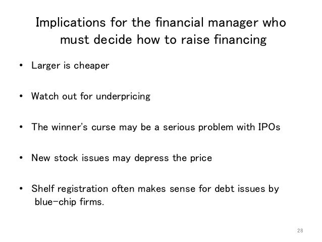 What is winners curse in ipo