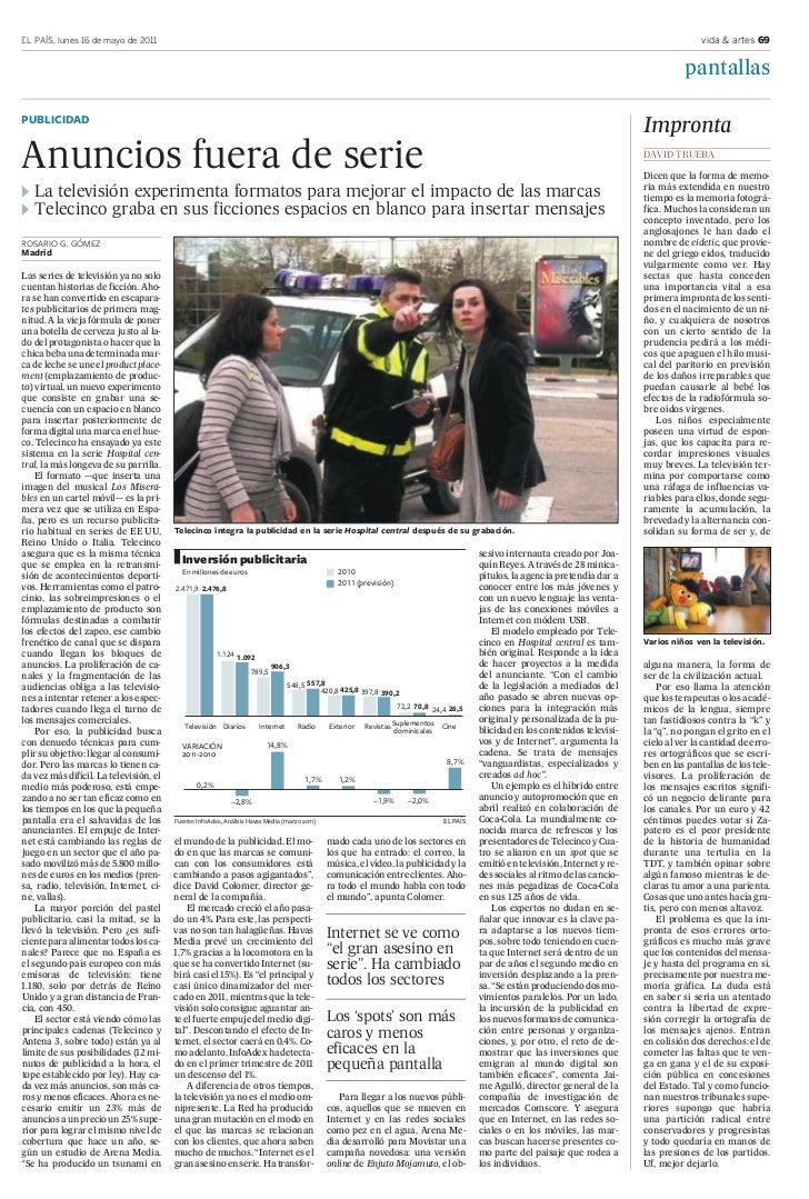 EL PAÍS, lunes 16 de mayo de 2011                                                                                         ...