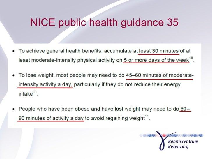 NICE public health guidance 35