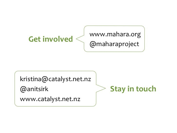 Using Mahara for your ePortfolio: New features in version 1.4