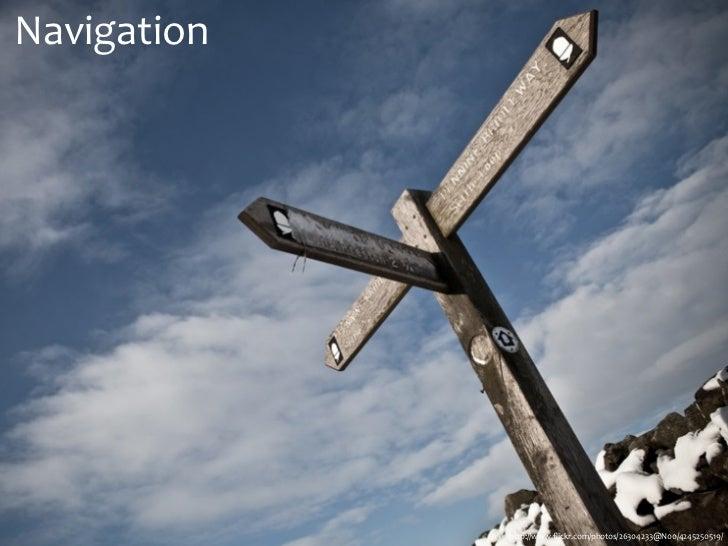Navigation             http://www.flickr.com/photos/26304233@N00/4245250519/