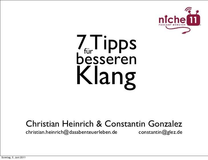 7 Tipps                                                für                                             besseren           ...