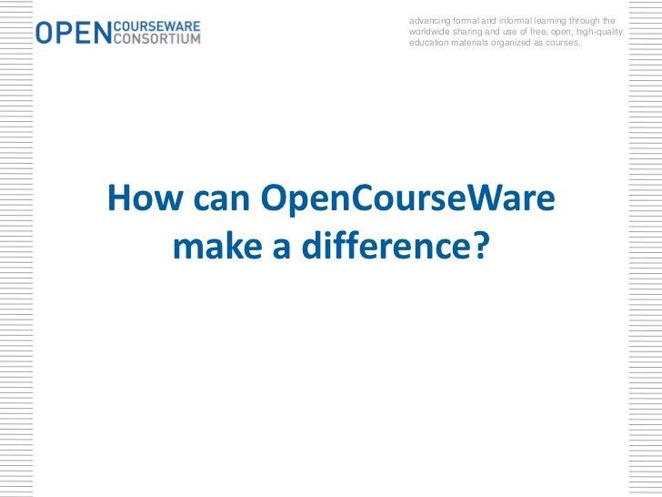 ocw courses