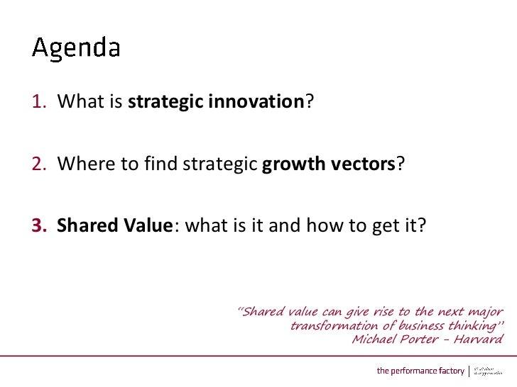 Shared Value - the next big thing in strategic innovation20110617 keynote gdfsuez_sharedvalue_f Slide 2