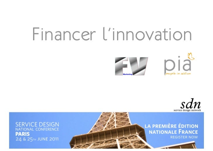 Financer l'innovation